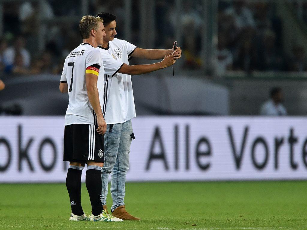 Bastian Schweinsteiger in Mönchengladbach