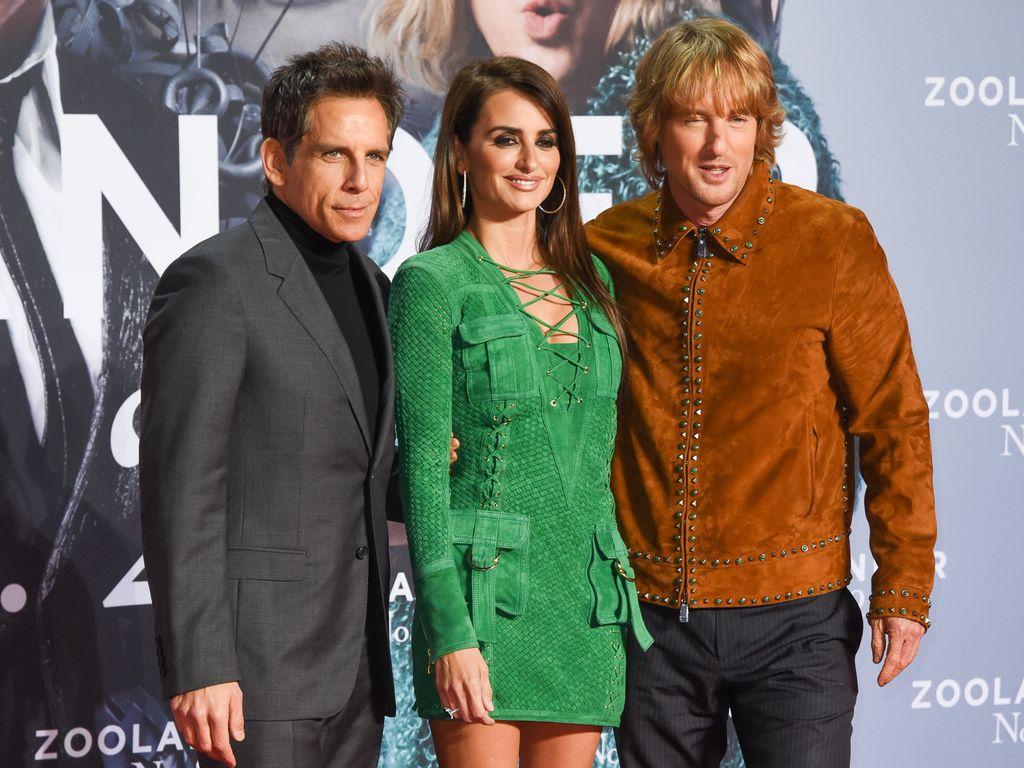 Ben Stiller, Penelope Cruz und Owen Wilson
