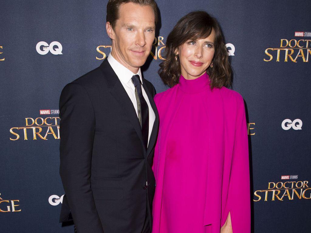 """Benedict Cumberbatch und Sophie Hunter beim """"Doctor Strange""""-Screening in London"""