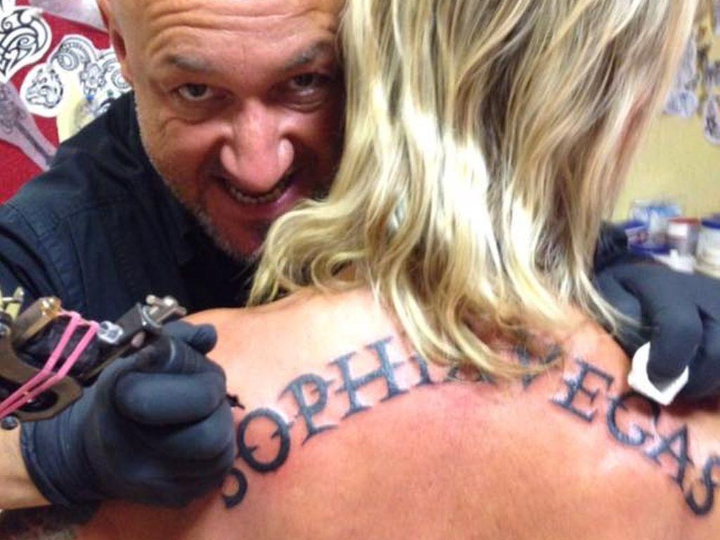 Bert Wollersheims neues Rücken-Tattoo für Sophia