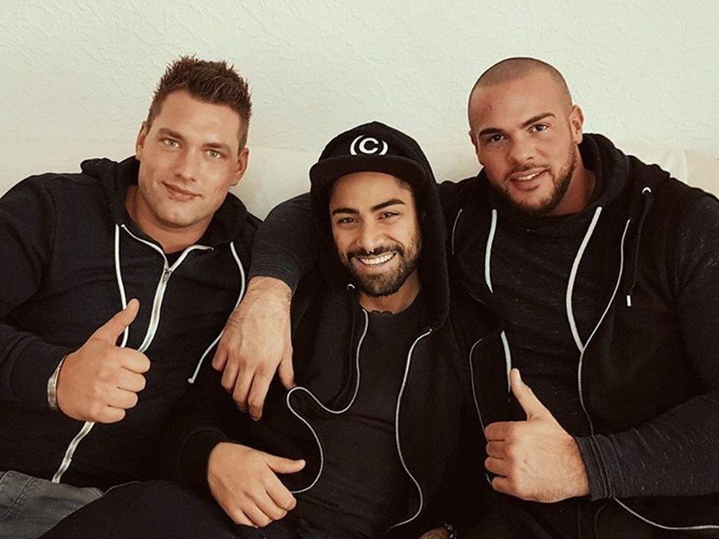 Kevin, Atchi80 und Manuel