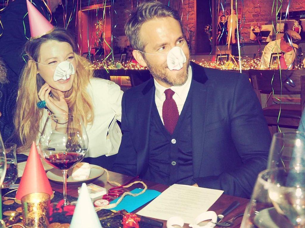 Blake Lively und Ryan Reynolds in einem New Yorker Restaurant