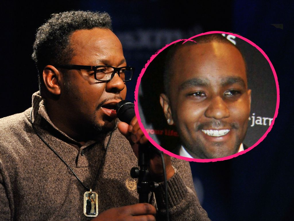 Bobby Brown und Nick Gordon