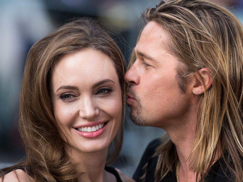 Endlich! Brad Pitt & Angelina Jolie verheiratet ... Angelina Jolie Brad Pitt