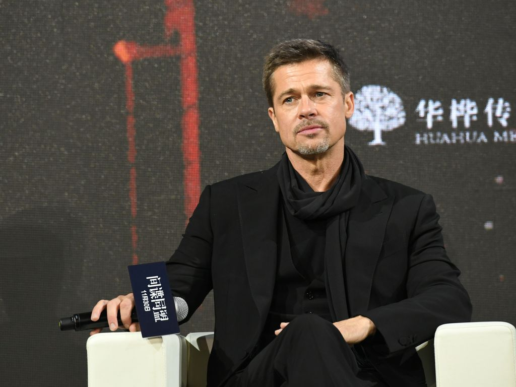 "Brad Pitt im November 2016 bei der ""Allied""-Premiere in Shanghai"