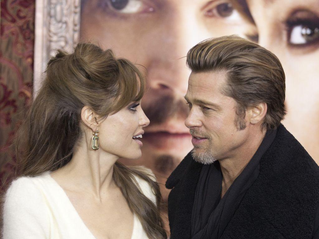 Brad Pitt und Angelina Jolie auf einer Filmpremiere im Jahr 2010