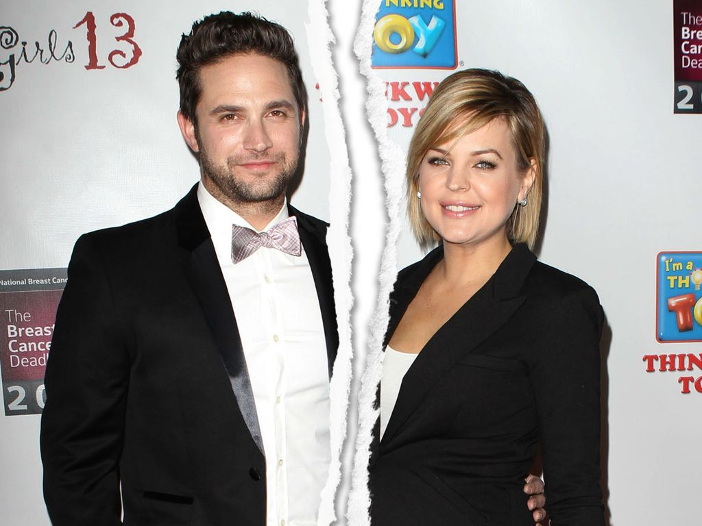 Brandon Barash und Kirsten Storms