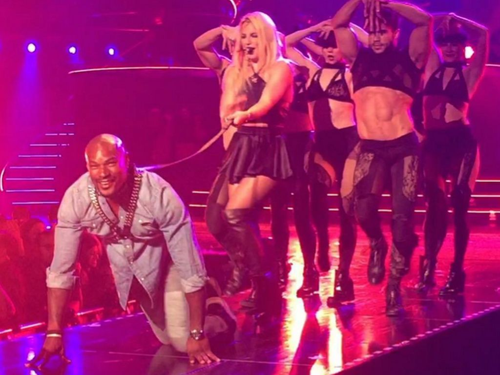 Britney Spears und Tyson Beckford