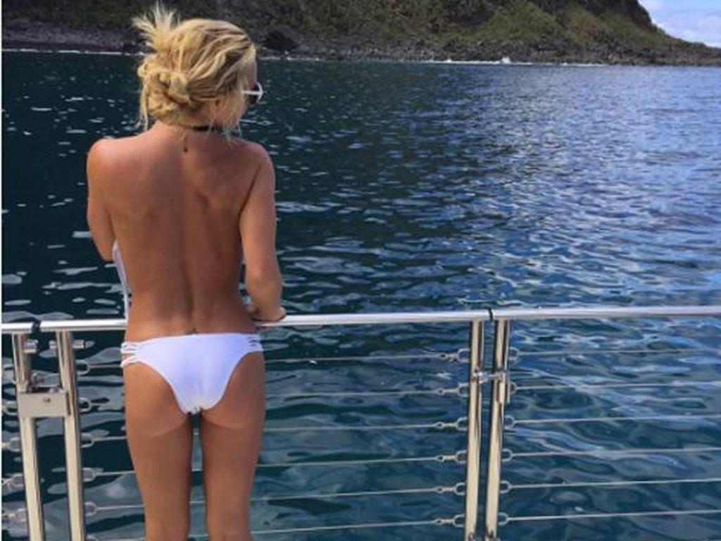 Britney Spears im Urlaub