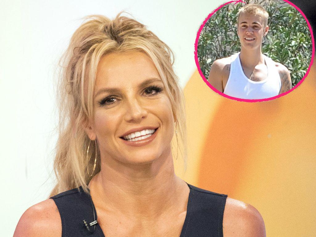 Britney Spears und Justin Bieber