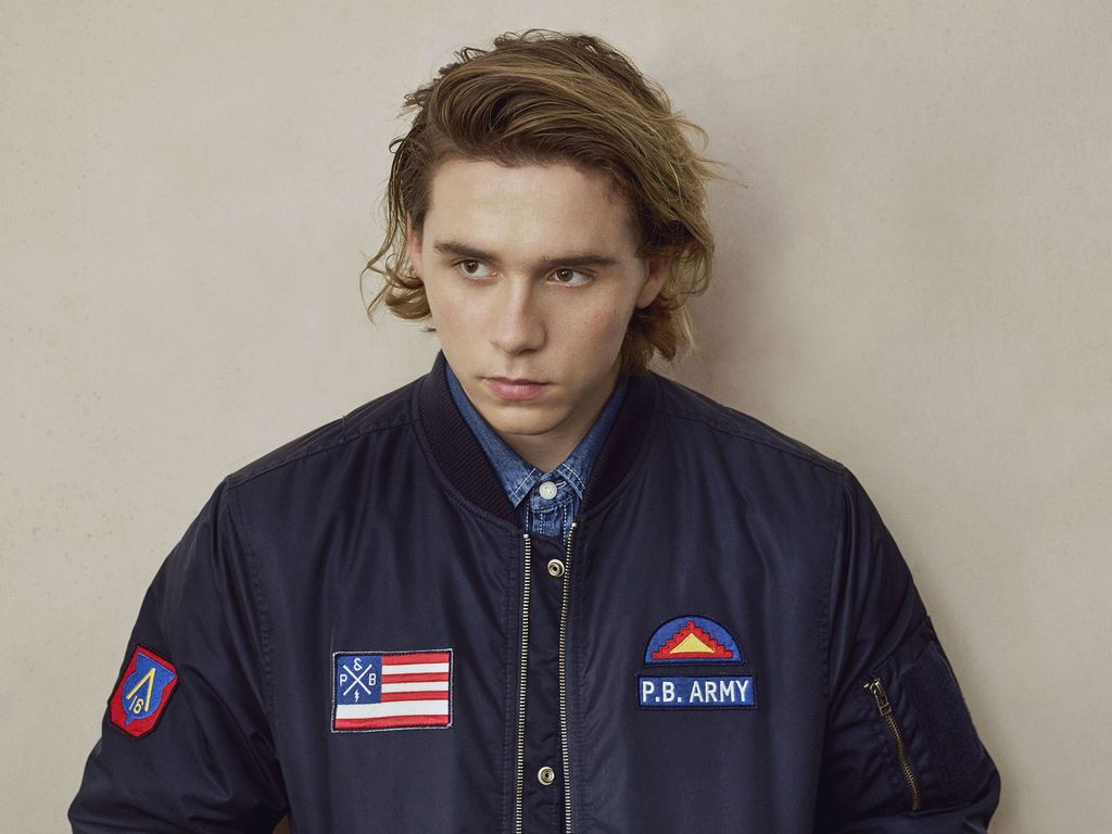 "Brooklyn Beckham in der ""Pull&Bear""-Kampagne"