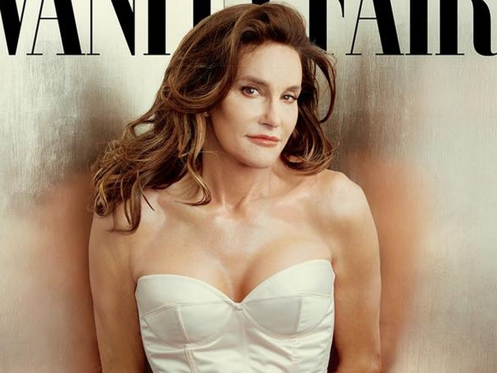 Caitlyn Jenner auf der dem Vanity Fair Cover