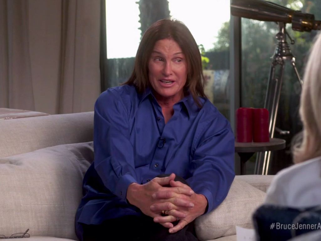Bruce Jenner und Diane Sawyer