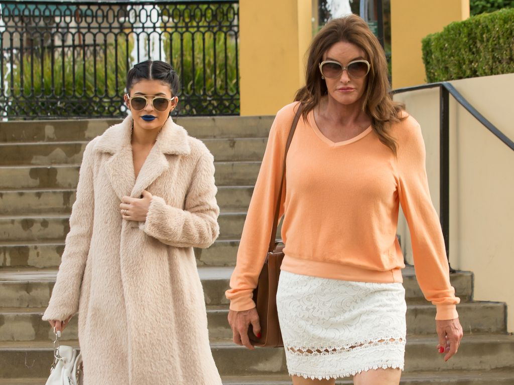 Kylie Jenner und Caitlyn Jenner