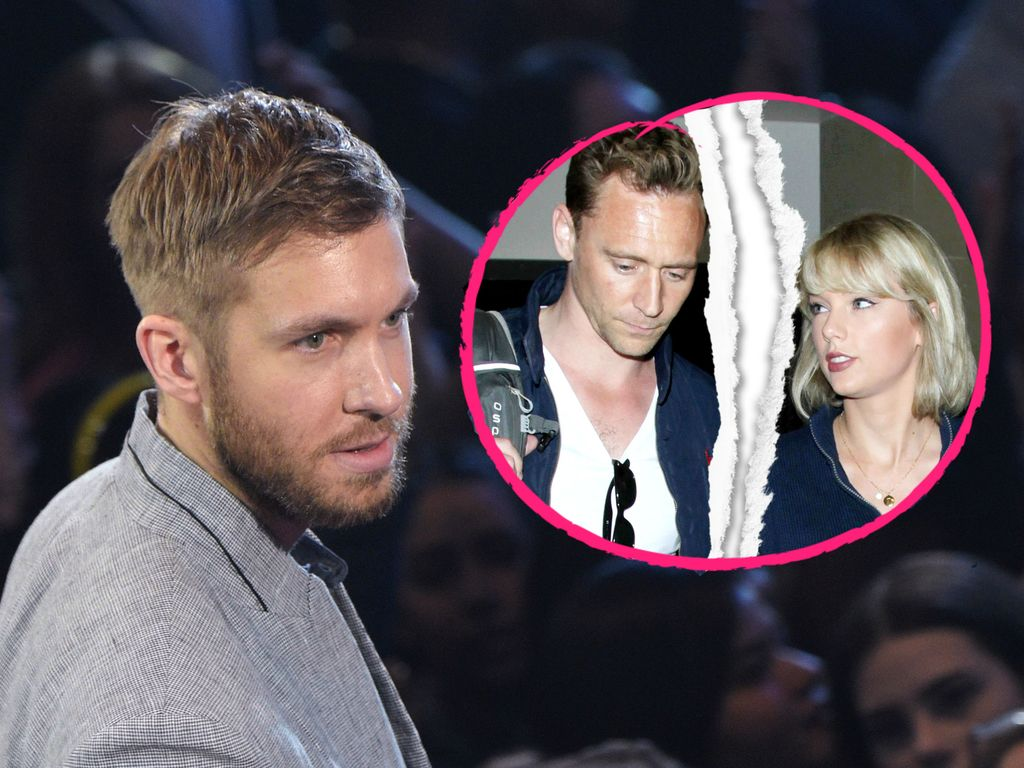 Calvin Harris, Tom Hiddleston und Taylor Swift