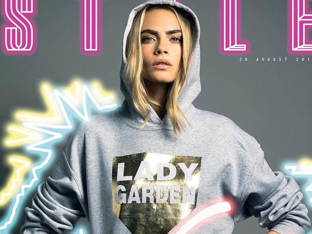 Cara Delevingne auf dem Style-Cover