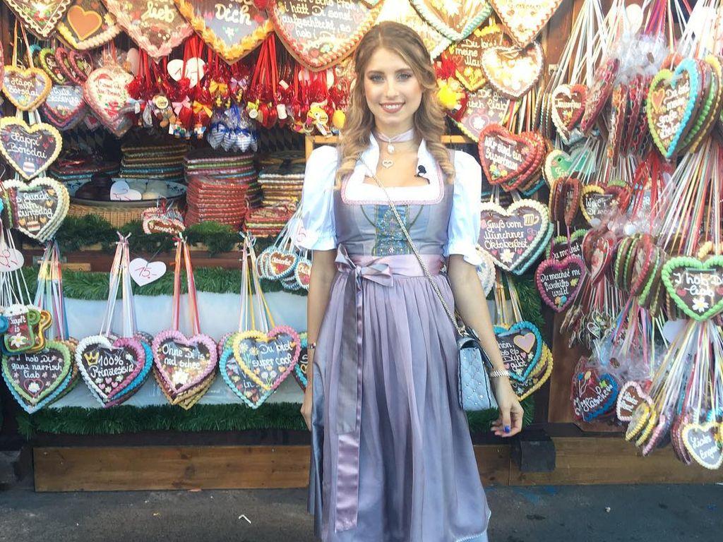 Cathy Hummels auf dem Oktoberfest 2016