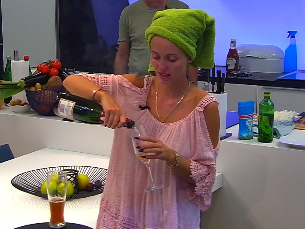 Cathy Lugner im PBB-Luxusbereich