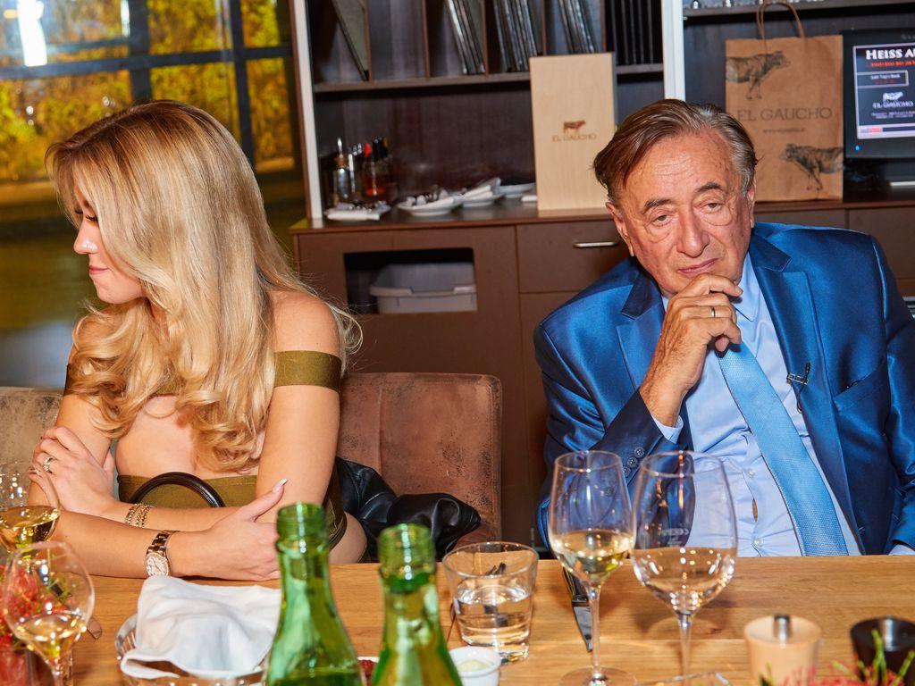 Cathy und Richard Lugner bei seinem Geburtstag im November 2016 in Wien