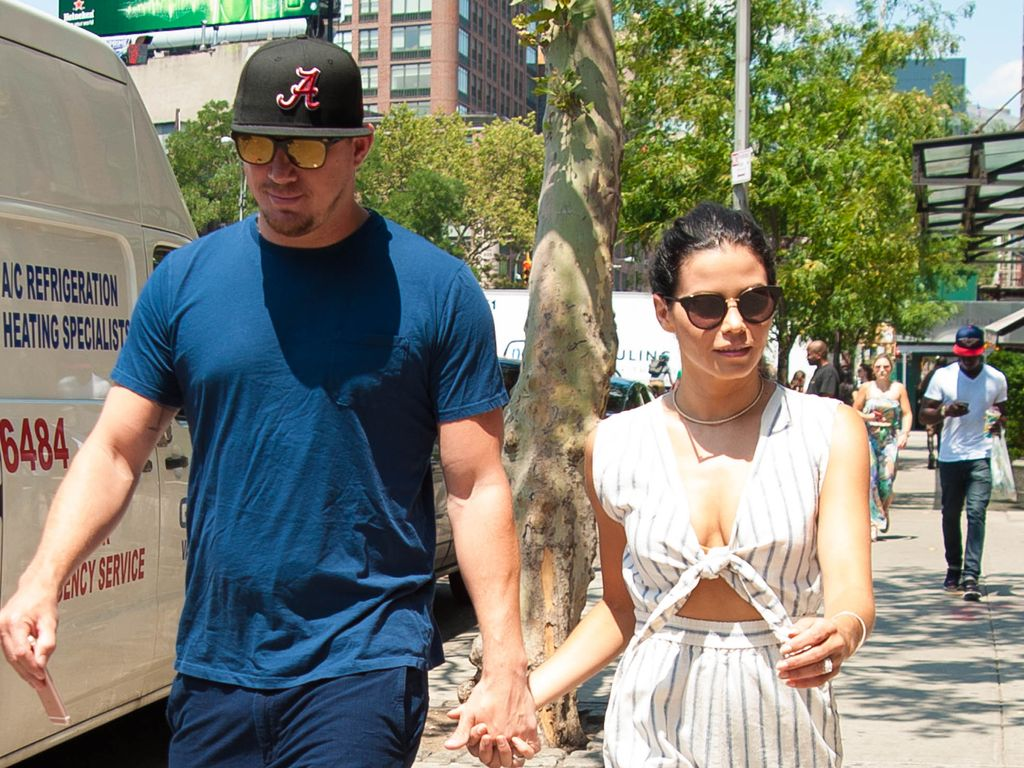 Channing und Jenna Tatum in Soho, New York