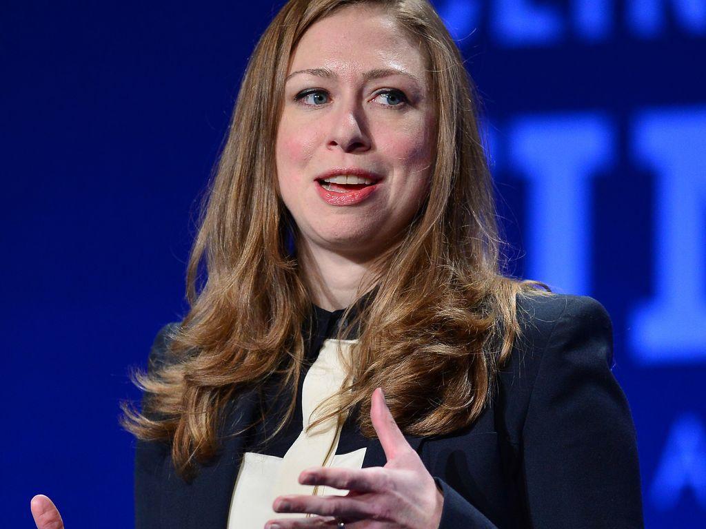 "Chelsea Clinton hält eine Rede bei der ""The Clinton Global Initiative University"""