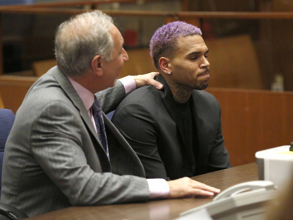 Chris Brown und Mark Geragos