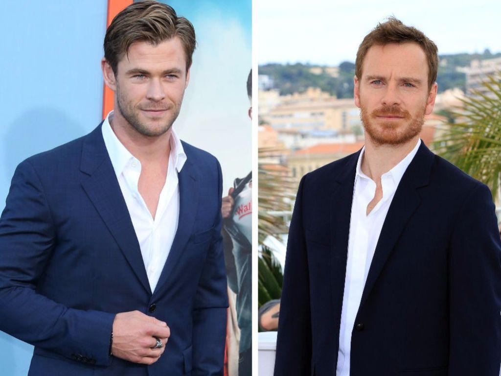 Chris Hemsworth und Michael Fassbender