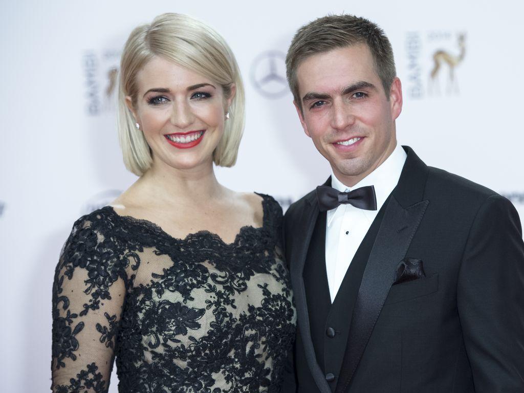 Philipp Lahm und Claudia Lahm