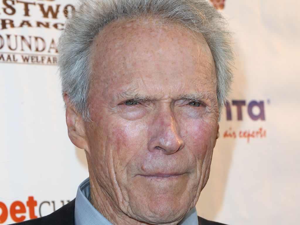 Hollywood-Star Clint Eastwood