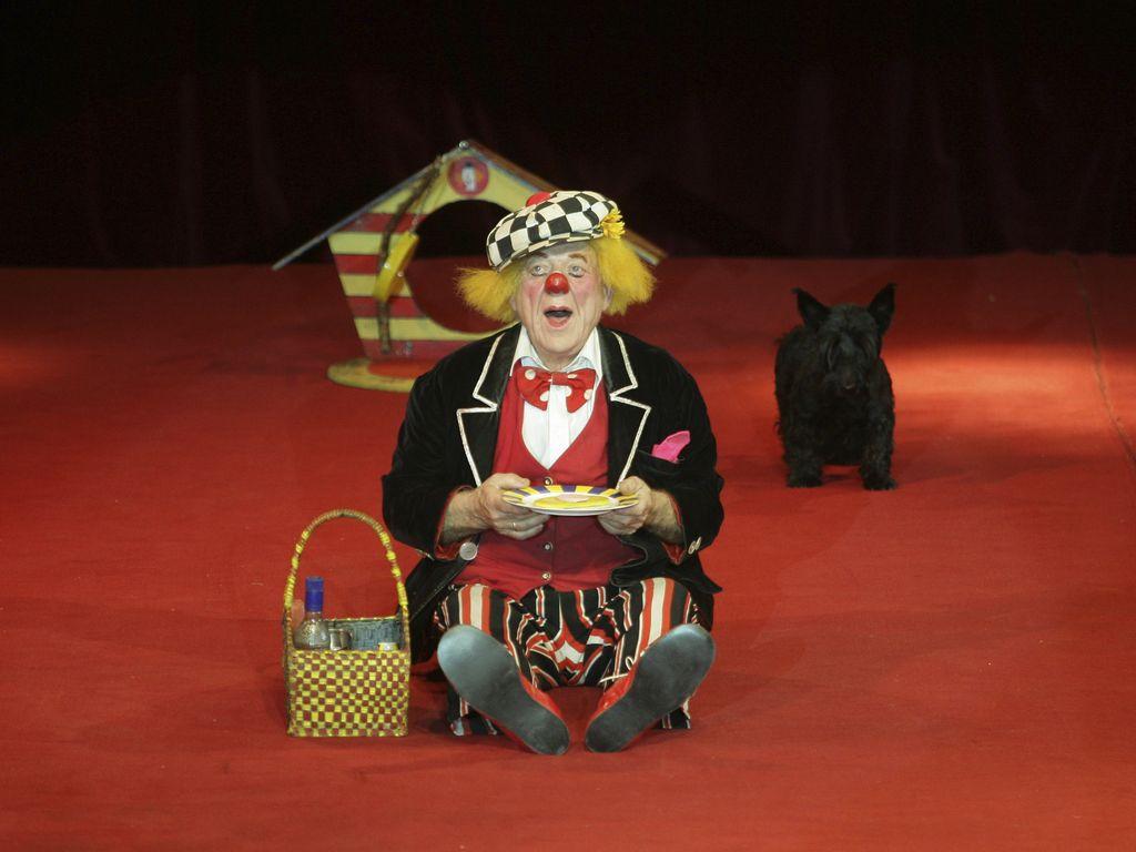 Der russische Clown Oleg Popow