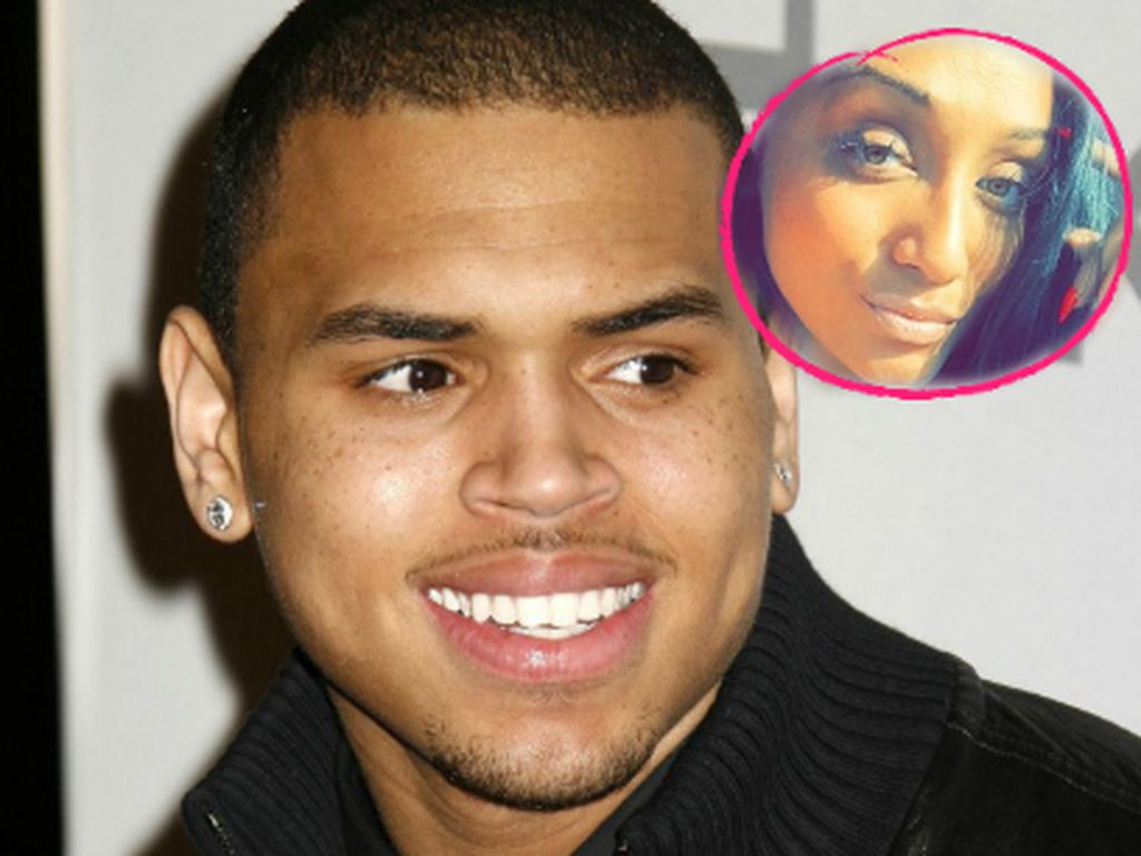 Chris Brown und Nia Guzman