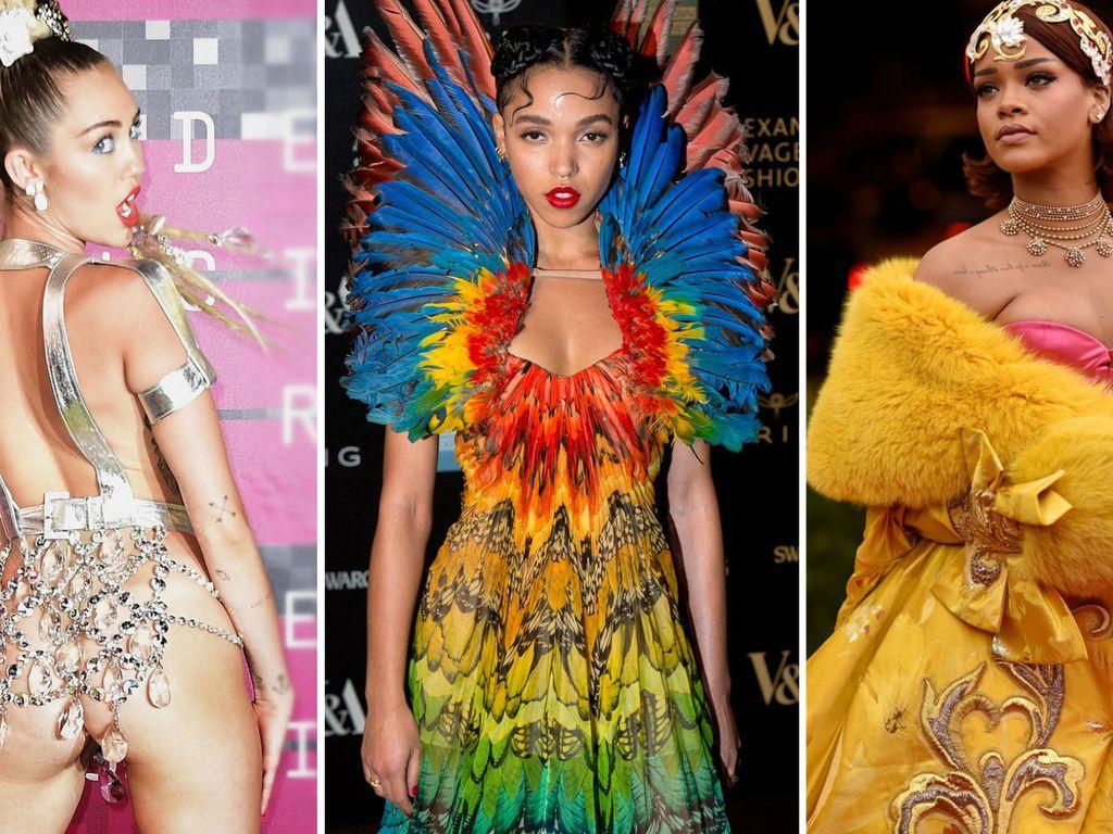 Miley Cyrus, Rihanna und FKA Twigs