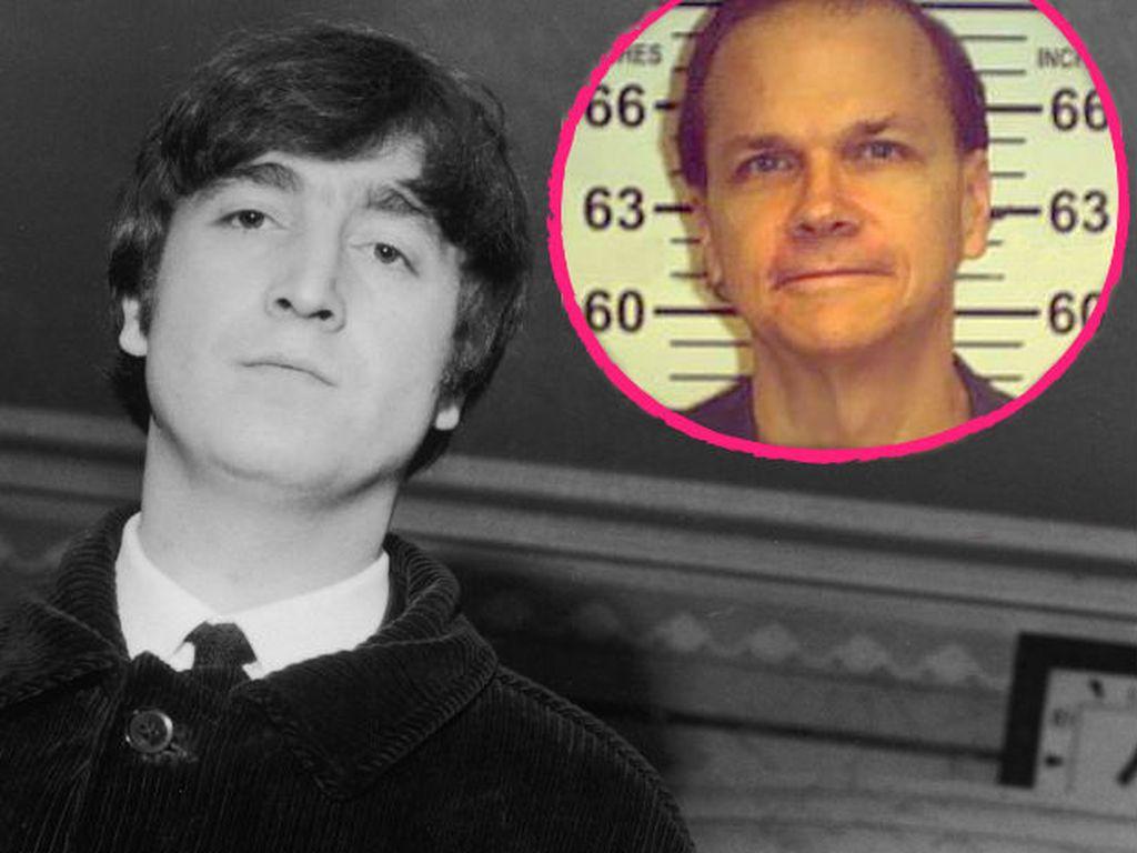 John Lennon und sein Mörder Mark Chapman