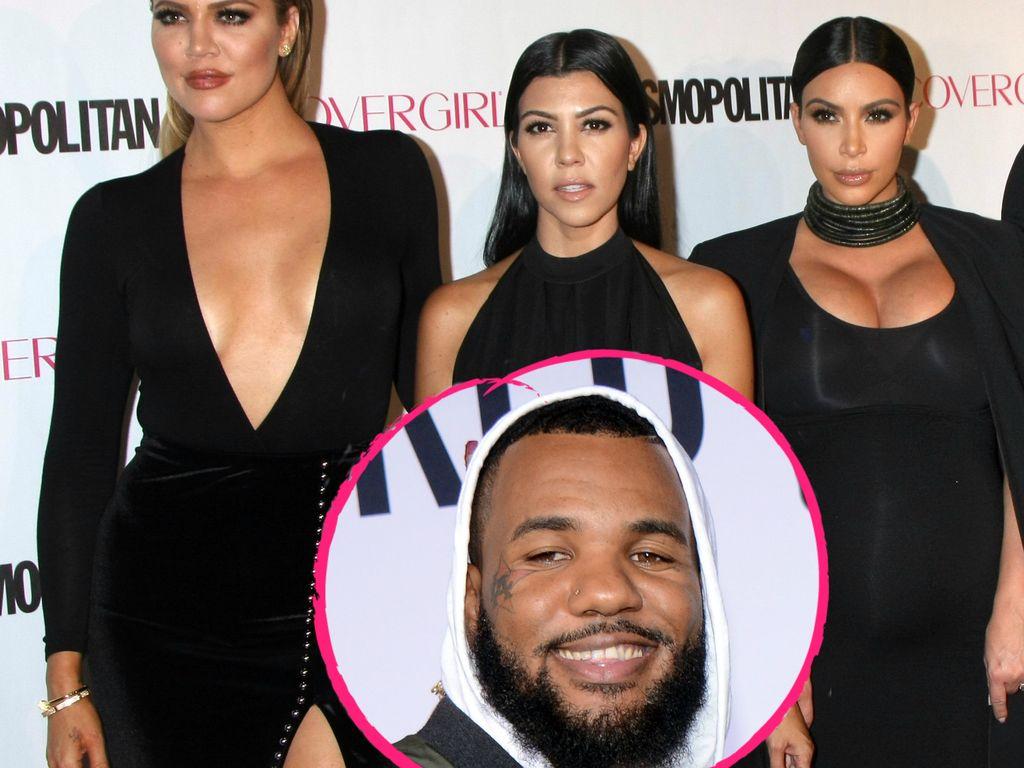 """Kardashian-Schwestern und Rapper """"The Game"""""""