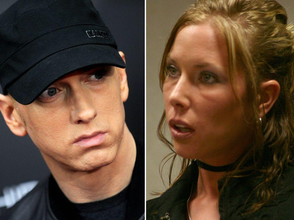 Eminem und Kim Mathers