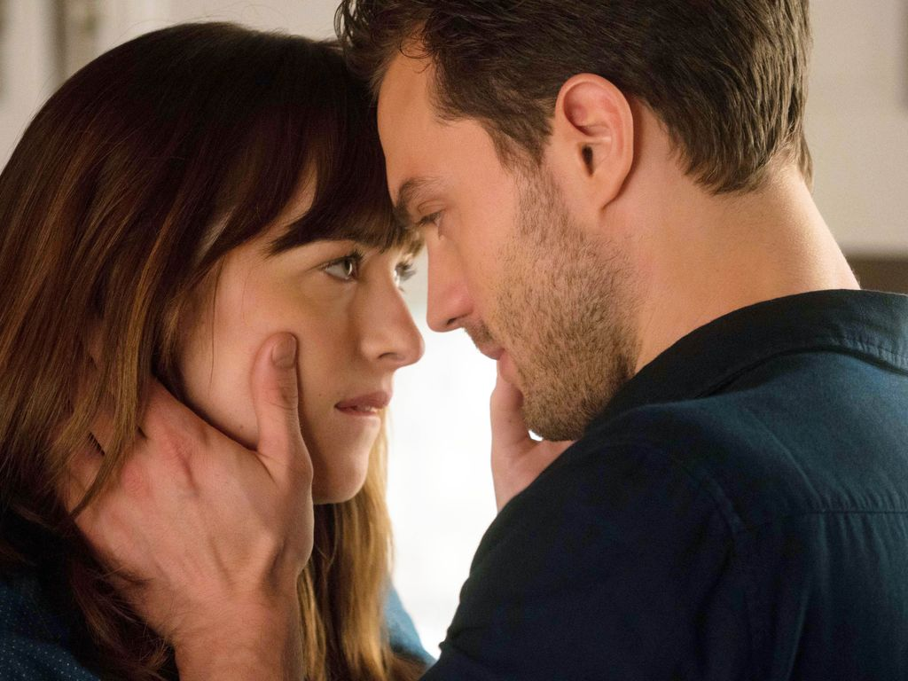 "Dakota Johnson und Jamie Dornan in ""Fifty Shades Darker"""