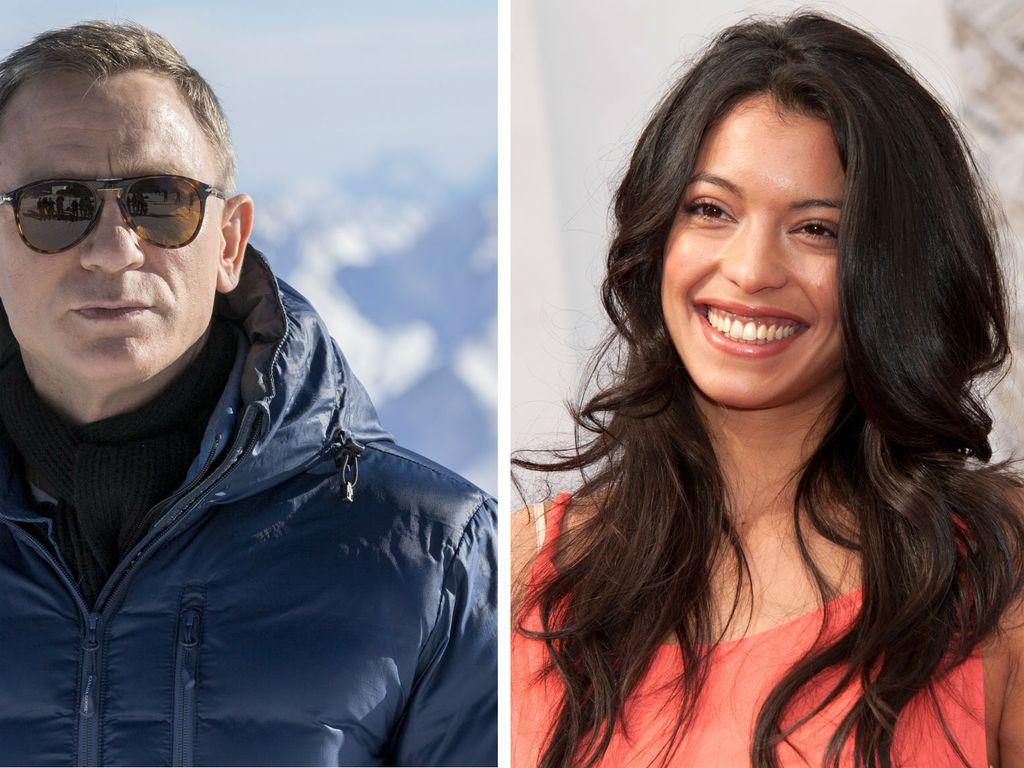 Daniel Craig und Stephanie Sigman