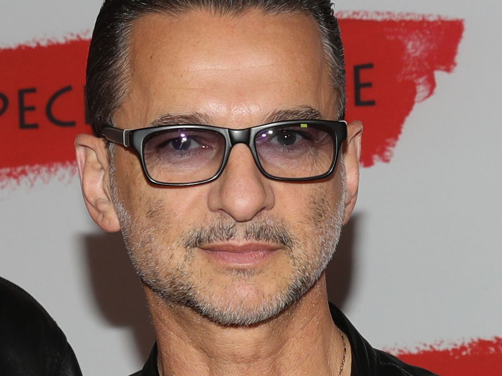 Dave Gahan beim Photocall für die Global Spirit Tour in Mailand 2016