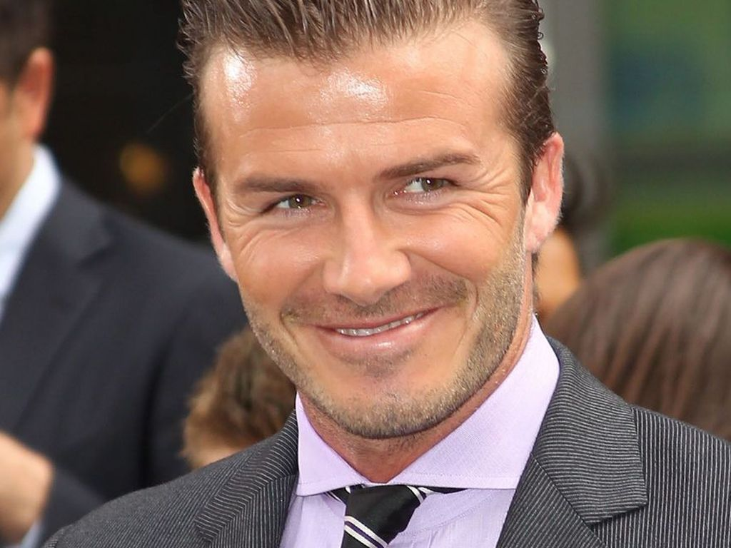 david beckham graue haare seit harpers geburt. Black Bedroom Furniture Sets. Home Design Ideas