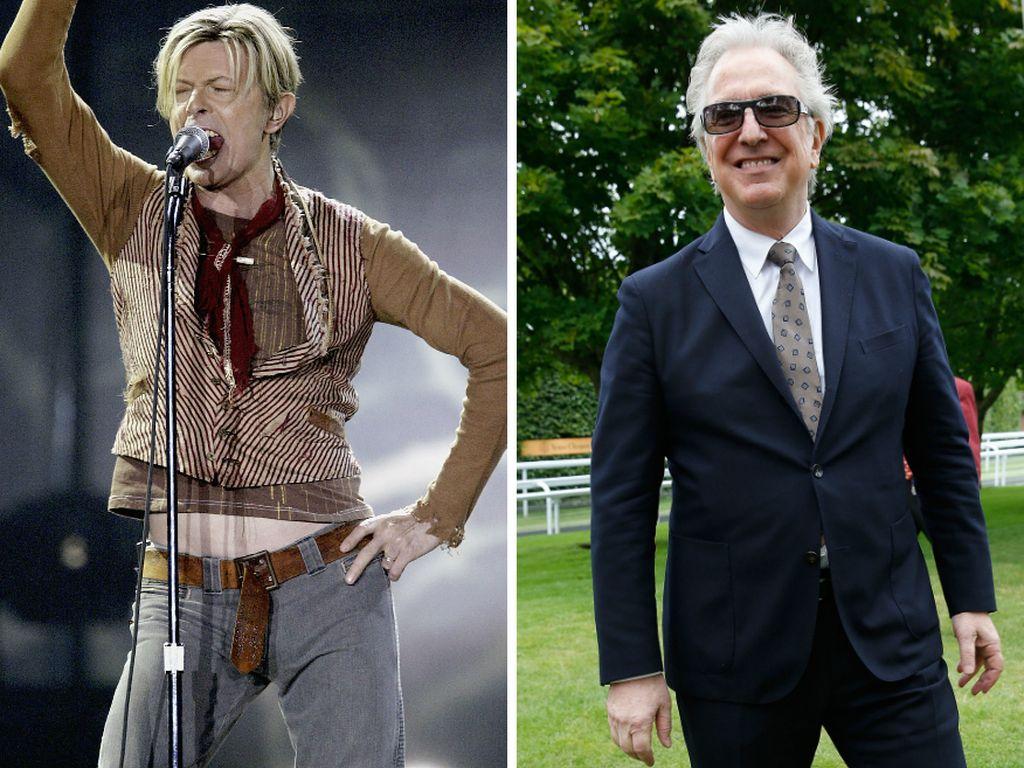 Alan Rickman und David Bowie