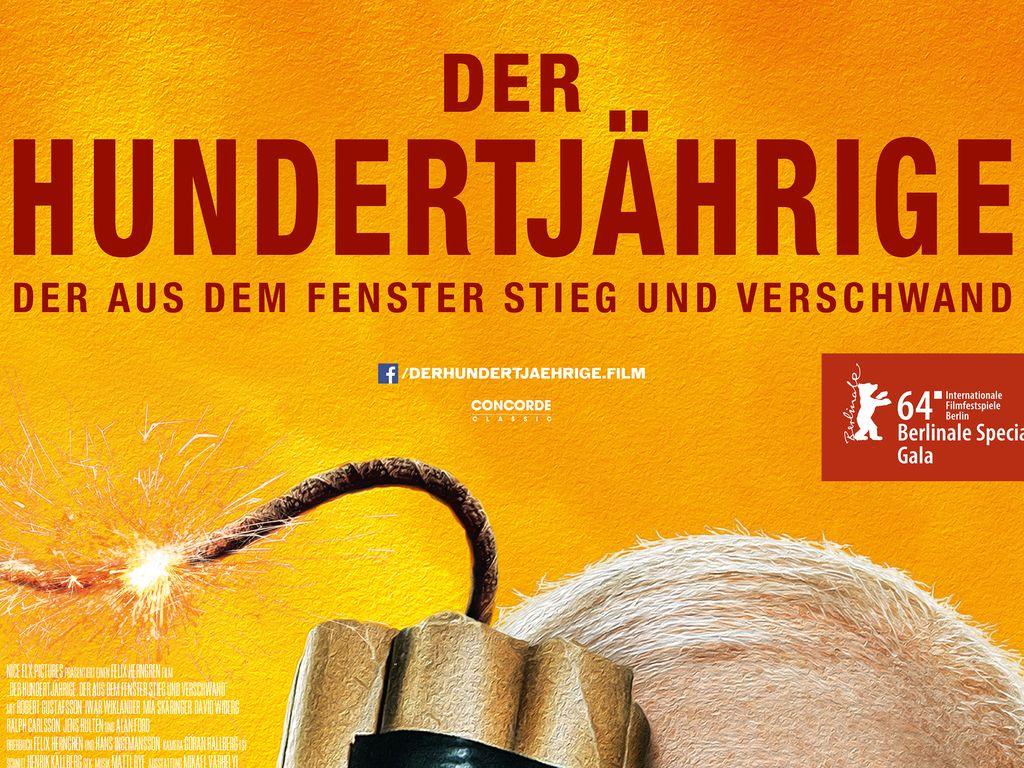 """Der Hundertjährige""-Filmplakat"