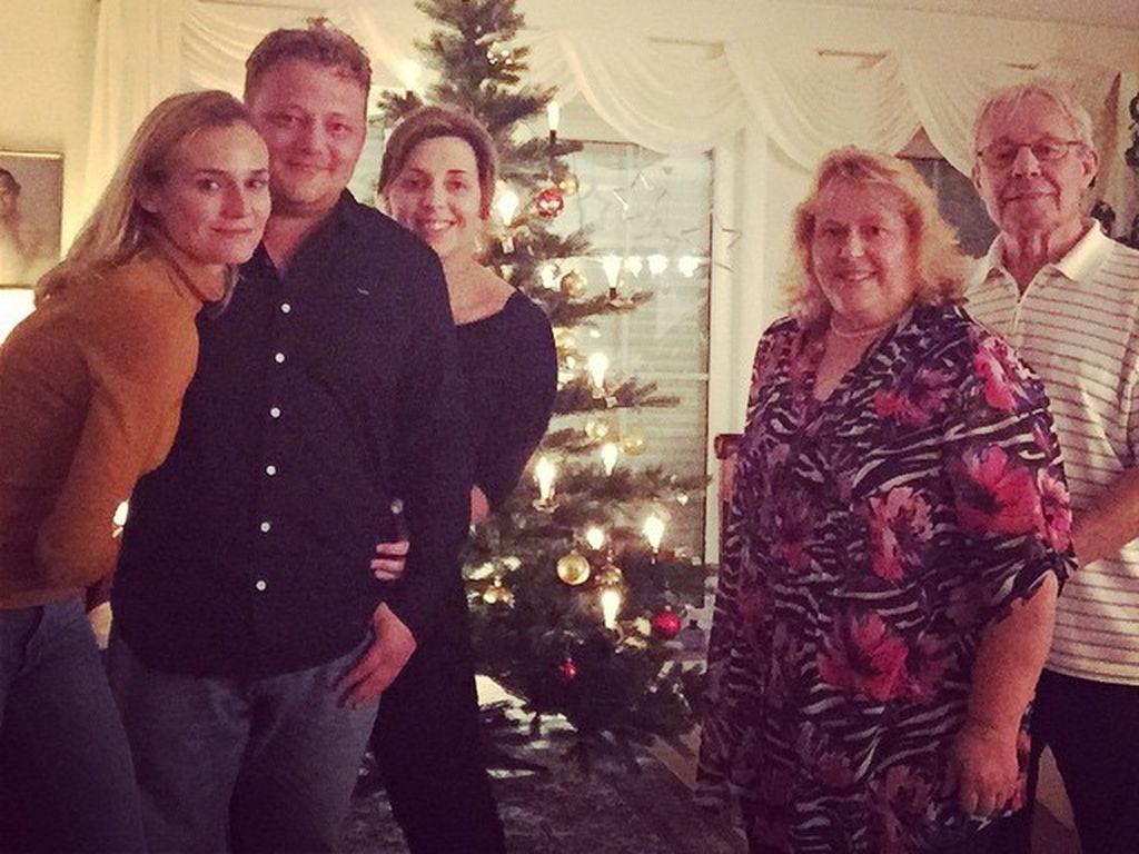 Schauspielerin Diane Kruger und ihre Familie