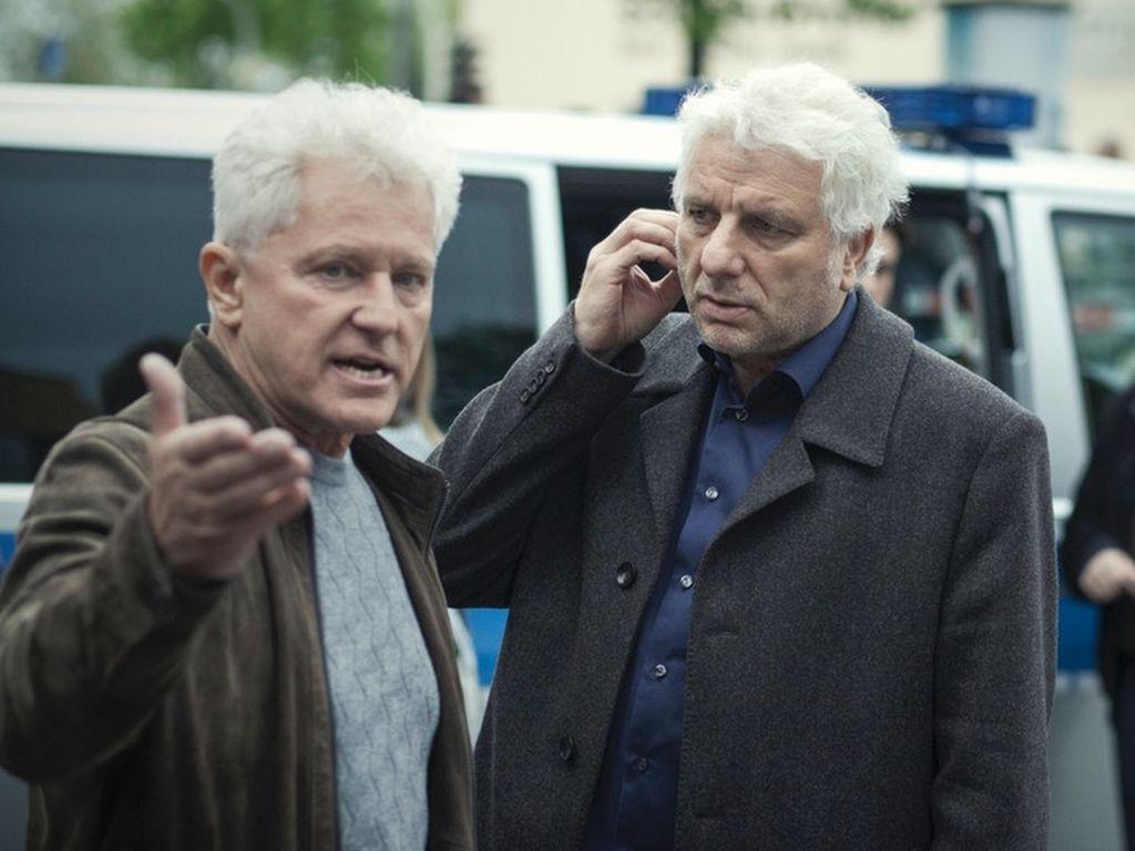 """Miroslav Nemec und Udo Wachtveitl im """"Tatort"""""""