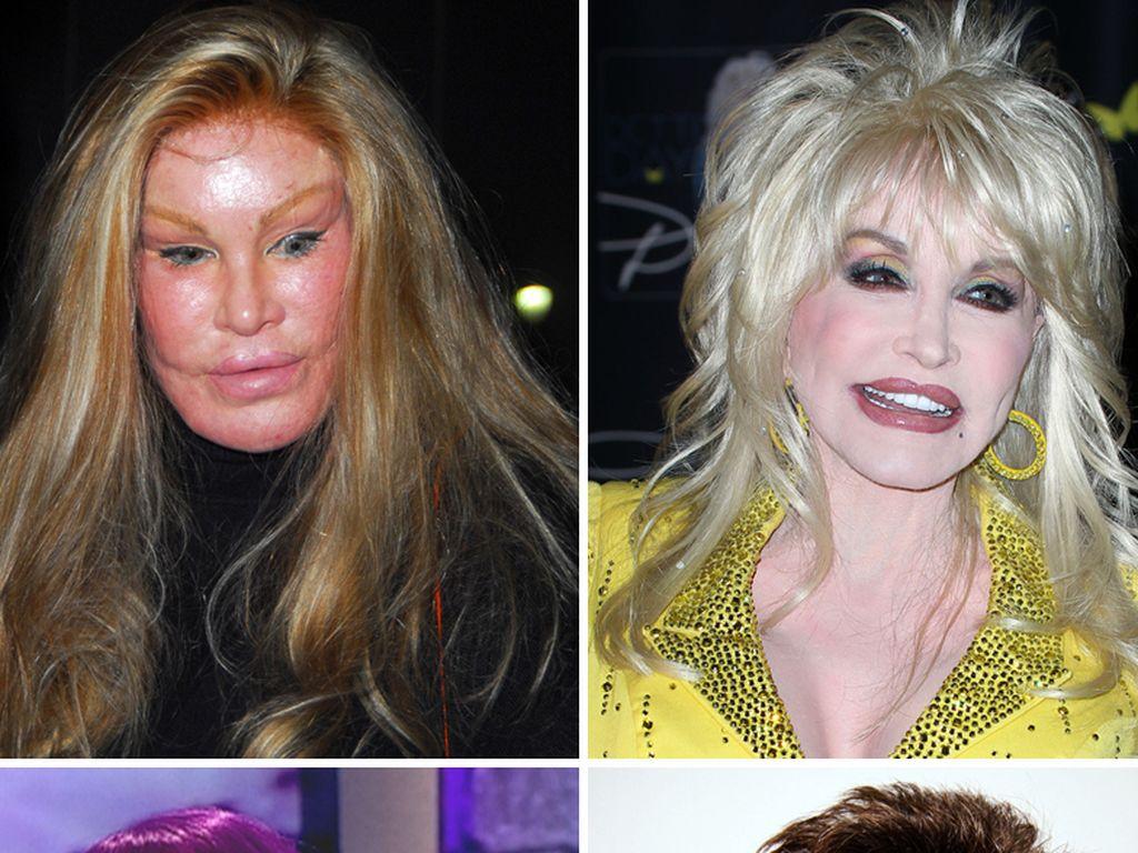 Dolly Parton und Pete Burns