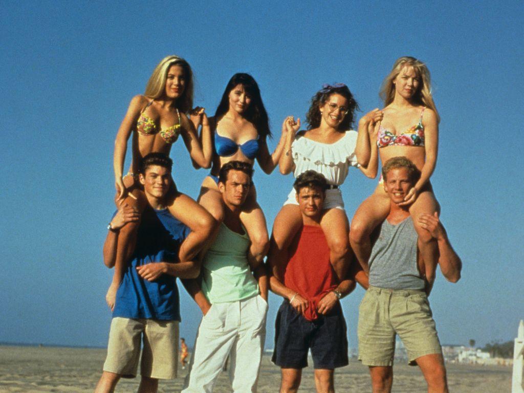 """Die Schauspieler von """"Beverly Hills 90210"""""""