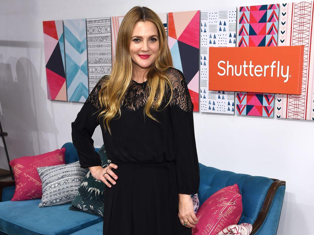 """Drew Barrymore bei der Präsentation von der """"Shutterfly Holiday Gift""""-Kollektion in New York"""