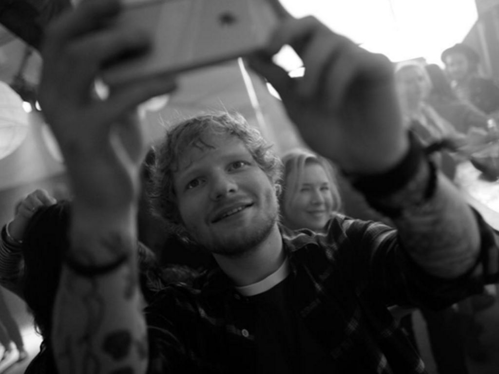 Ed Sheeran und Renee Zellweger