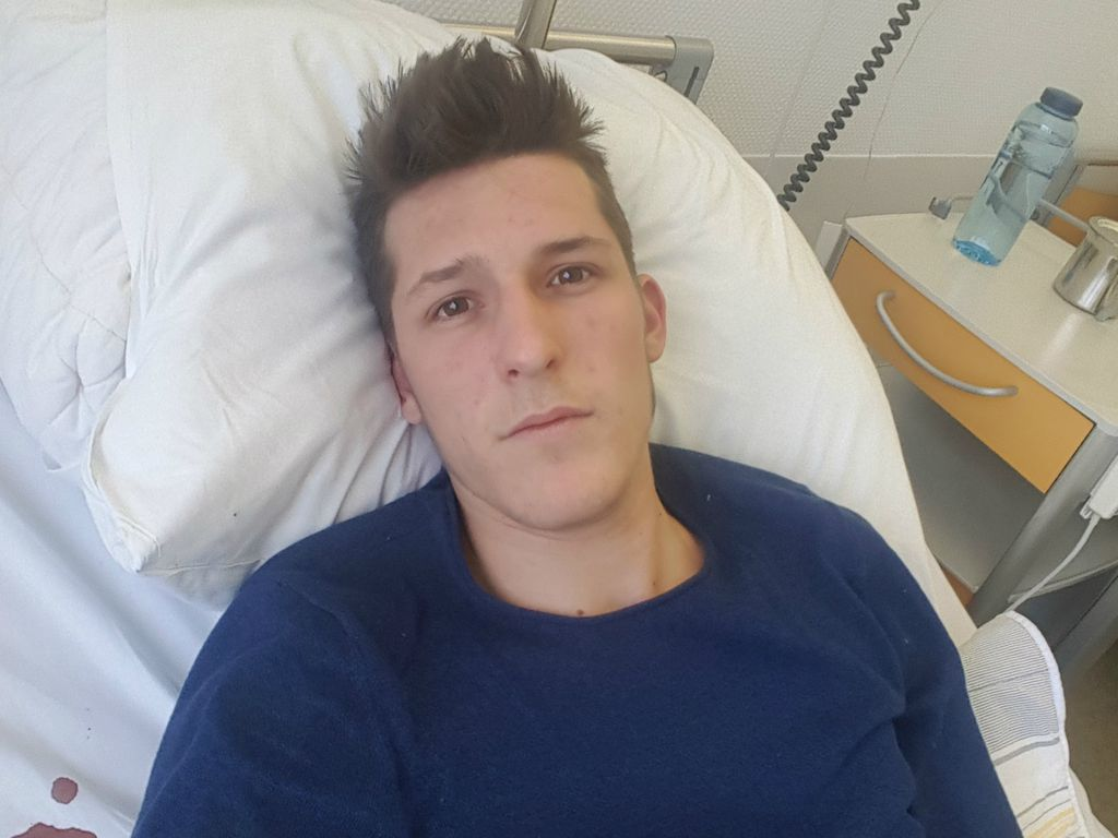 Ehemaliger DSDS-Kandidat Jannik Rubeck im Krankenhaus