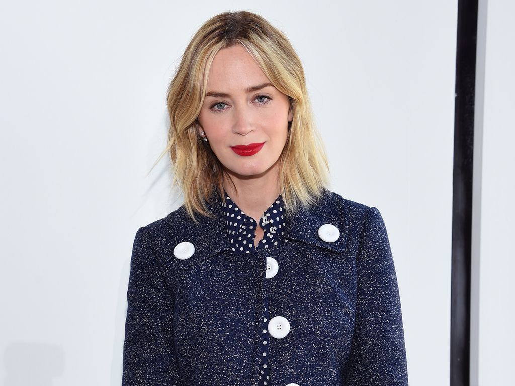 Emily Blunt bei der New York Fashion Week
