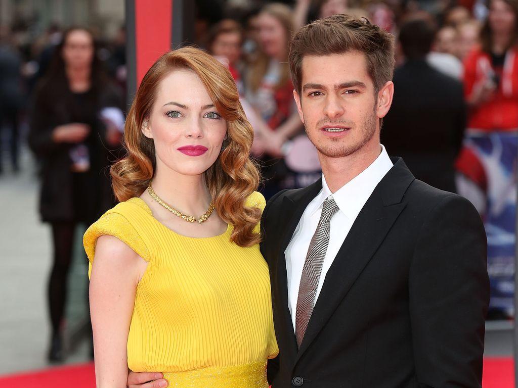 Emma Stone und Andrew Garfield im Jahr 2014